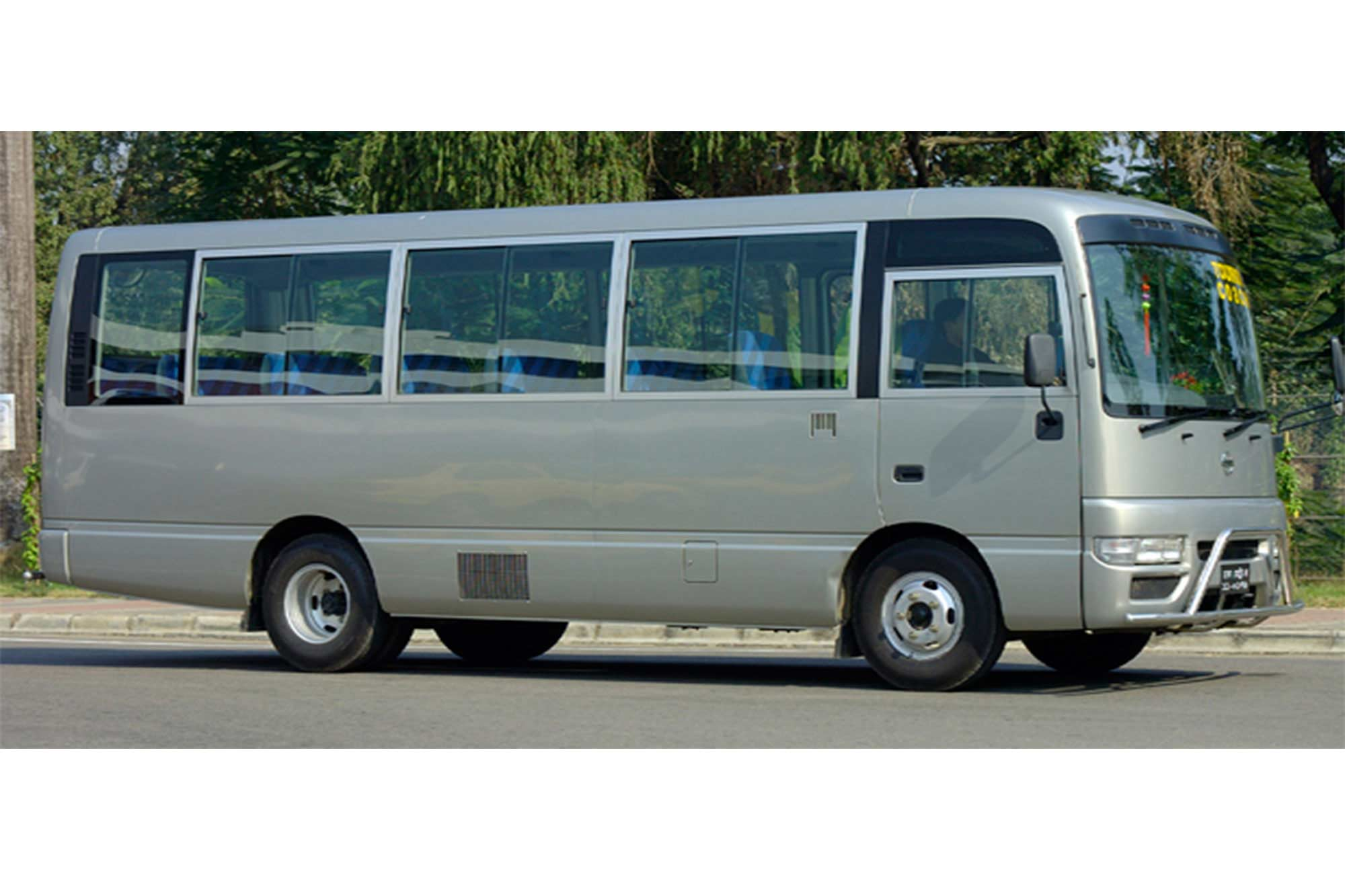 Nissan Civilian Tourist Bus Rent in Dhaka
